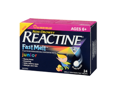 Image of product Reactine - Reactine Fast Melt Junior Formula, 24 units