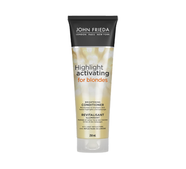 Sheer Blonde Highlight Activating Enhancing Conditioner for Lighter Blondes, 250 ml
