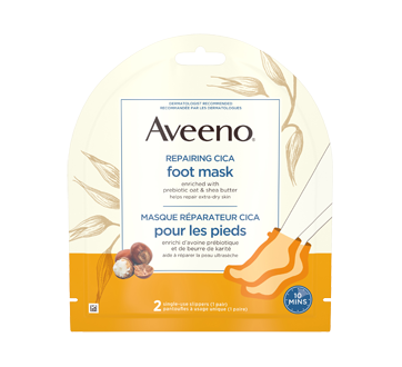 Image of product Aveeno - Repairing CICA Foot Mask, 1 unit