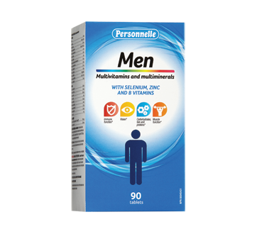 Image of product Personnelle - Multivitamins & Multiminerals for Men, 90 units