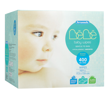 Baby Wipes, 400 units