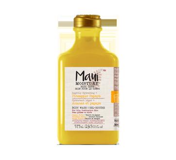Lightly Hydrating + Pineapple Papaya Body Wash, 577 ml