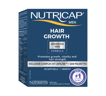 Image of product Nutricap - Nutricap Men Hair and Nails, 40 units