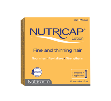 Image of product Nutricap - Anti-Hair Loss Lotion Men, 10 x 5 ml