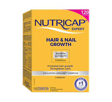 Image of product Nutricap - Nutricap Hair and Nails, 120 units