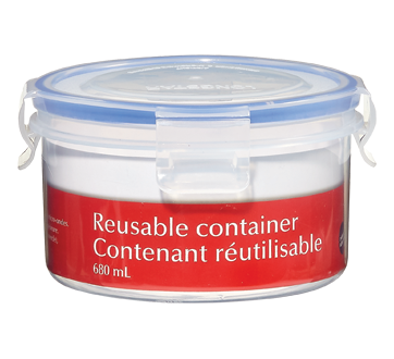 Reusable Container, 680 ml