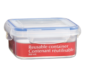 Reusable Container, 860 ml