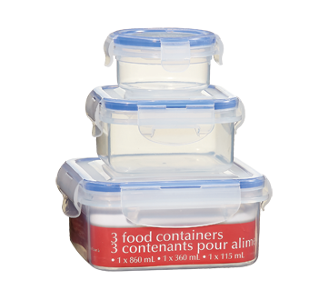 Reusable Container, 3 units