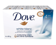 Image of product Dove - Beauty Bar, 4 x 90 g, White