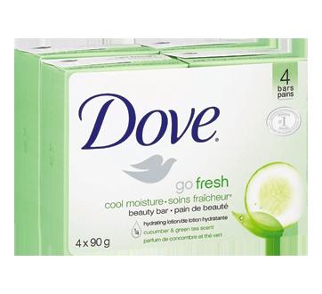 Beauty Bar Sensitive Skin, 4 x 90 g, Cool Moisture