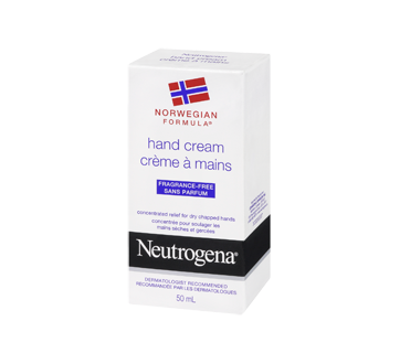 Norwegian Formula Fragrance Free Hand Cream, 50 ml