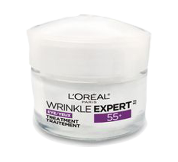 Wrinkle Expert 55+ Calcium Anti-Wrinkle Eye Cream, 15 ml