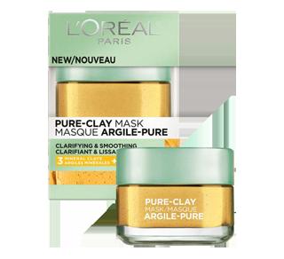 Pure-Clay Clarifying & Smoothing Mask, 50 ml