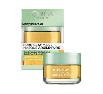 Pure-Clay Clarifying & Smoothing Mask, 50 ml