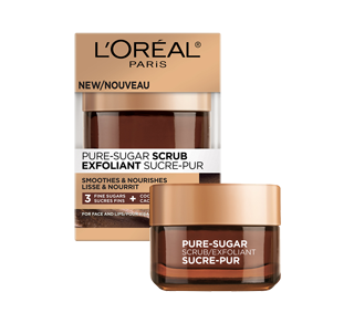 Pure-Sugar Scrub for Face and Lips, 50 ml, Dry Skin