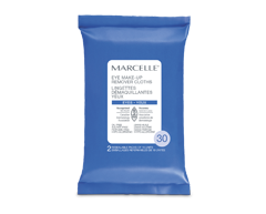 Image of product Marcelle - Eye Make-Up Remover Cloths, 2 x 15 units
