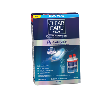 Image of product Clear Care - Clear Care Plus Twin, 2 x 360 ml