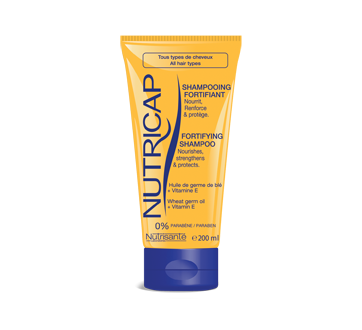 Image of product Nutricap - Shampoo, 200 ml, Wheat germ