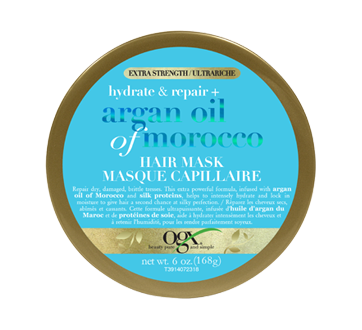 Extra Strength Hydrate & Repair + Argan Oil of Morocco Hair Mask, 168 g