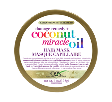 Extra Strength Damage Remedy + Coconut Miracle Oil Hair Mask, 168 g