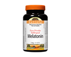 Image of product Webber - Holista Melatonin, 60 units