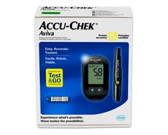 Image of product Accu-Chek - Aviva Blood Glucose Meter and Lancing Device, 1 unit