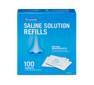Image of product Personnelle - Saline Solution Refills, 100 units
