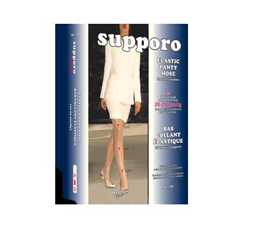 Image of product Supporo - Elastic Panty Hose, 20-25 mmhg, X-Large, 1 unit, Navy