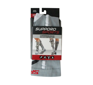 Image of product Supporo - Sports Compression Socks, 1 unit, Extra Large