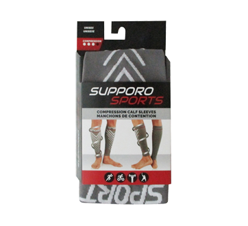 Image of product Supporo - Sports Compression Calf Sleeves, 1 unit, Small