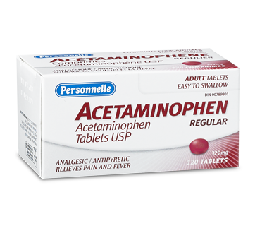 Image of product Personnelle - Acetaminophen 325 mg, 120 units
