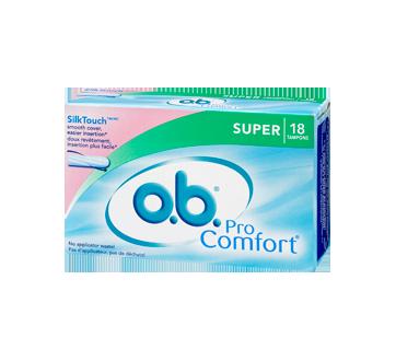 Image 3 of product O.B. - Pro Comfort, Super, 18 units