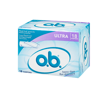 Image 3 of product O.B. - Tampons Ultra Heavy Days, 18 units