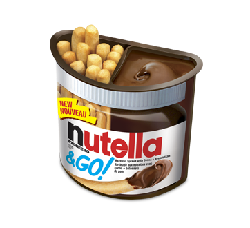 Image of product Ferrero Canada Limited - Nutella & Go, 52 g