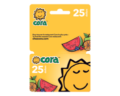 Image of product Incomm - $25 Cora Gift Card