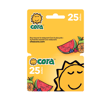 Image of product Incomm - $25 Cora Gift Card, 1 unit