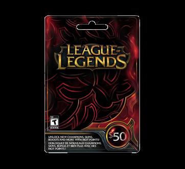 $50 League Of Legends Game Card, 1 unit
