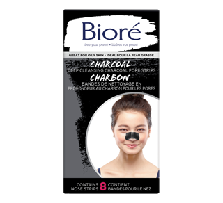 Deep Cleansing Charcoal Pore Strips, 8 units