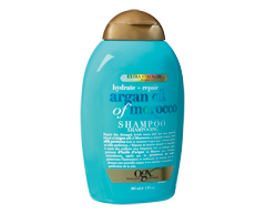 Image of product OGX - Extra Strength Argan Oil of Morocco, Hydrate and Repair Shampoo , 385 ml