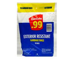 Image of product Économie - Exterior Resistant Garbage Bags, 10 units
