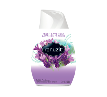 Adjustable Fresh Lavender Gel Air Freshener, 198 g