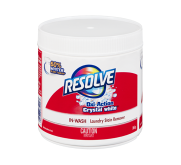 Oxi-Action Crystal White Powder In-Wash – Resolve : Stain remover