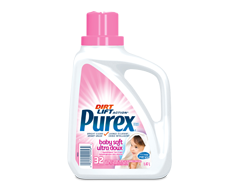 Image of product Purex - Purex Laundry Detergent for Baby Hypoallergenic Free Of Dyes, 1.47 L