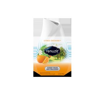 Adjustable Citrus Sunburst Gel Air Freshener, 198 g