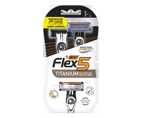 flex5 shaver 2 units bic inc personal care jean coutu. Black Bedroom Furniture Sets. Home Design Ideas