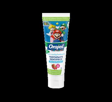 Super Mario Anticavity Fluoride Toothpaste Gel, 119 g, Fruit