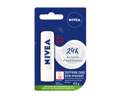 Image of product Nivea - Soothing Care SPF 15, 4.8 g