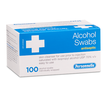 Image of product Personnelle - Alcohol Swabs, 100 units