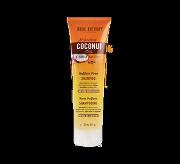 Hydrating Coconut Oil & Shea Butter Sulfate Free Shampoo, 250 ml
