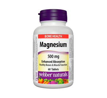 Image of product Webber - Magnesium Enhanced Absorption 500 mg, 60 units